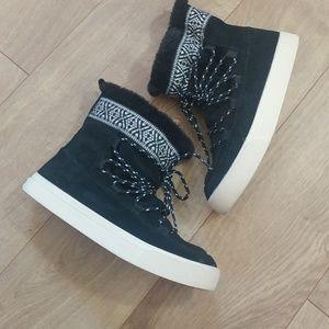 Tom's Women's Suede Bootie Sneakers